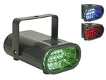 FLASH RUNNING LIGHT CON 10 LEDS RGB REGULABLE STROBO ESTROBOSCOPICO FIESTA PUB