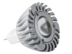 BOMBILLA CON LED 3W COLOR BLANCO CALIDO 2700K 12V MR16  AHORRO DE ENERGIA