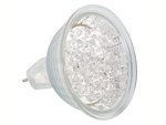 BOMBILLA LED COLOR BLANCO CALIDO CONEXION MR16 12VAC 084W