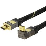 CABLE HDMI A MACHO  HDMI ETHERNET EN ANGULO 90� 1.5m