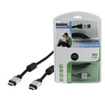 CABLE CON ETHERNET HDMI A MACHO  HDMI A MACHO 1.50m