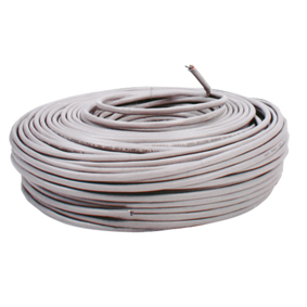 CABLE RED CAT5E FTP SOLIDO PROTEGIDO AWG24 305m GRIS