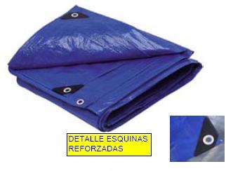 Toldo techo suelo rafia azul impermeable reforzado 2x3m ebay - Toldos rafia ...