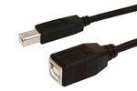 CABLE ALARGADOR LATIGUILLO USB MACHO  USB HEMBRA 3m