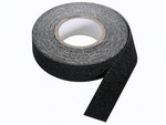 CINTA ADHESIVA ANTIDESLIZANTE COLOR NEGRO 20mm x 5m