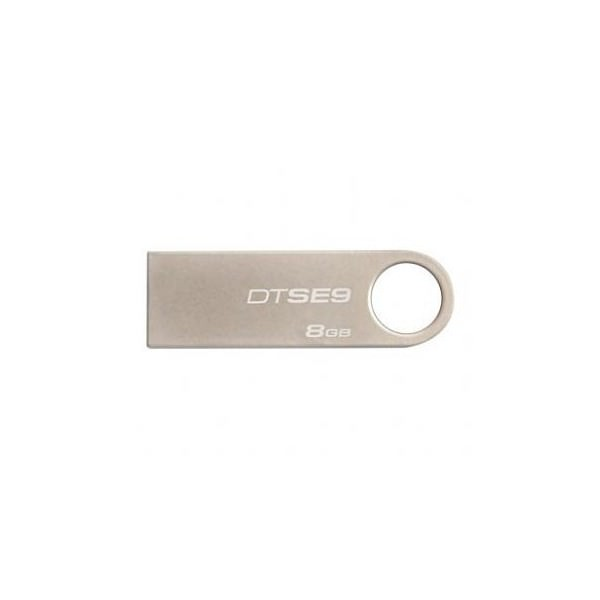 MEMORIA FLASH USB KINGSTON PENDRIVE USB 20 METALICO DE UNA SOLA PIEZA  8GB